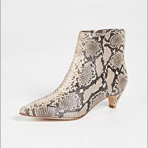 Splendid Nettie Snakeskin Boot